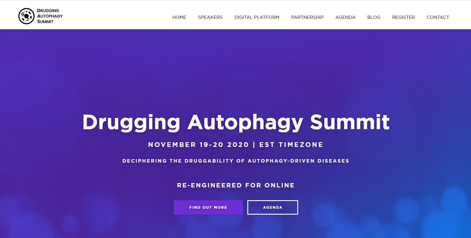2020 Drugging Autophagy Summit